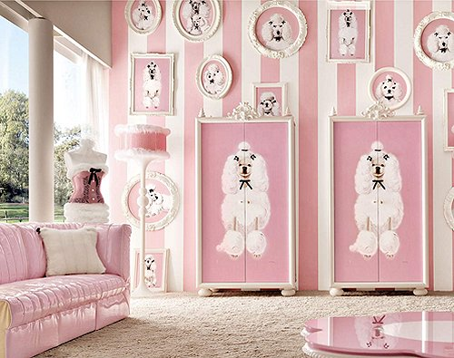 Paris Themed Girls Bedroom Ideas