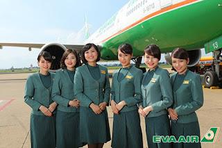 Nhân viên EVA Air
