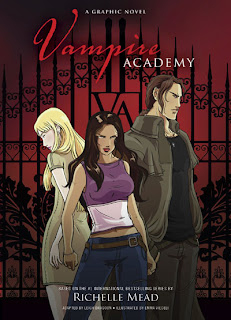 Short Reviews: Vampire Academy Graphic Novel and Almost a Scandal