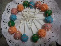 Cakepops redondos