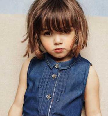 Model Rambut Cantik Untuk Anak Perempuan GayaRambutOrg - Gaya rambut pendek budak perempuan