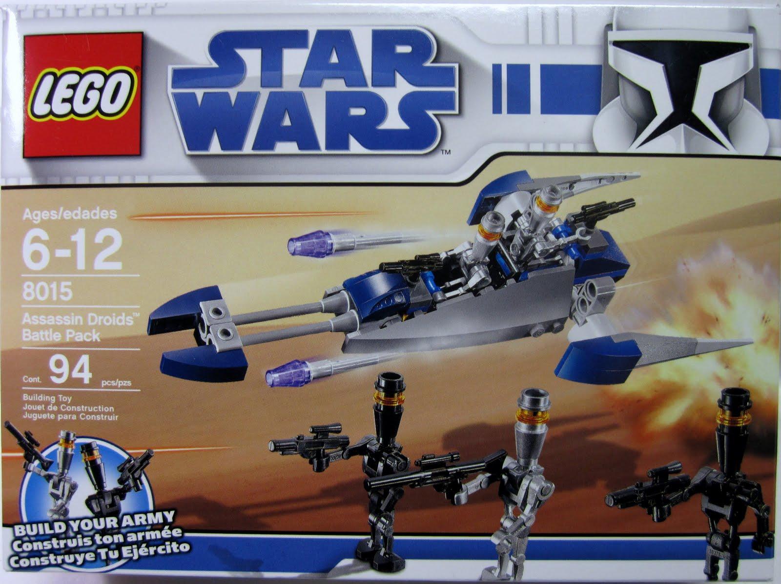 Lego Star Wars Assassin Droids Battle Pack set 8015