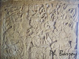 Paysages Mexique Chiapas Yaxchilan Sculpture Maya blog photo voyage