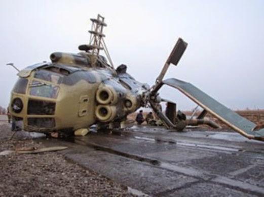 Helikopter tentera Iran terhempas