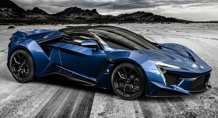 following last weeks teaser w motors revealed their latest creation called fenyr supersport at the dubai motor show a hypercar that will sit below their - W Motors Supersport Limited Edition