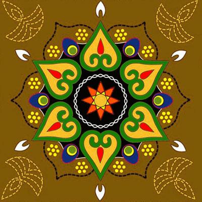 Rapidoflorist diwali deepavali 2011 rangoli designs for Door rangoli design images new