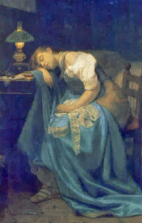 http://commons.wikimedia.org/wiki/File:Angelo_Trezzini_-_A_Tired_Seamstress.jpg