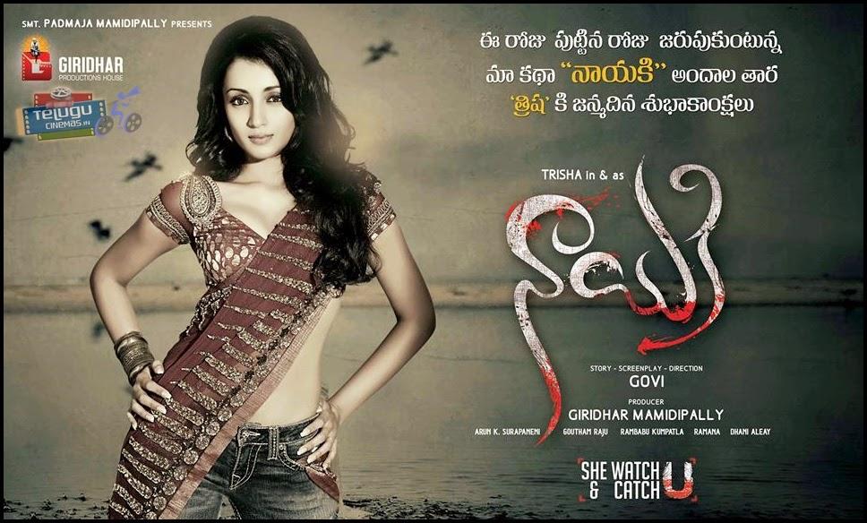 Trisha New Movie Nayaki posters-Trisha Birthday