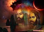 الامام الحسين و قائد جيشه يوم كربلاء العباس عليهم الصلاة و السلام