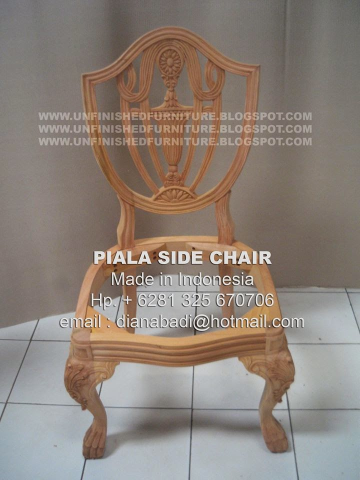 supplier furniture chair from indonesia supplier mahogany wooden frame from indonesia supplier classic unfinished dining chair supplier unfinished mahogany chair