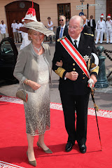 Belgian King and Queen at the Monaco Royal Wedding
