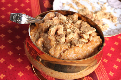Pumpkin rice pudding (gluten-free)
