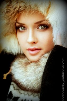 Russian Beauty Girl With Sweater 2015