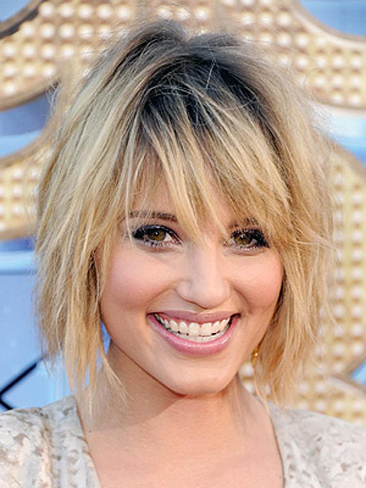 Popular Celebrity Bang Hairstyles 5