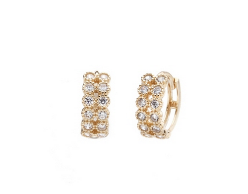 Double Rolletwon Earrings