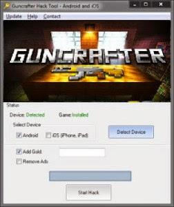 Guncrafter Hack