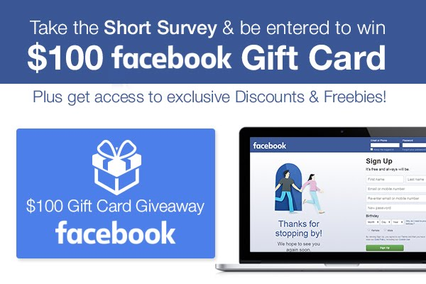 Win 100$ From FACEBOOK FOR FREE