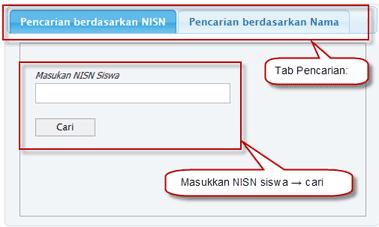 Petunjuk Cari NISN Siswa 1
