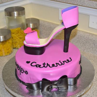 Sweetcakern Spring Stiletto Cake