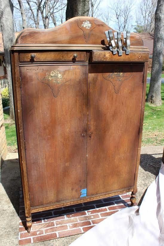 Vintage Country Style: Before & After Flea Market Find