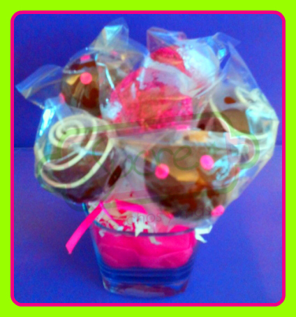 Sucre Cake Pops Arrangements