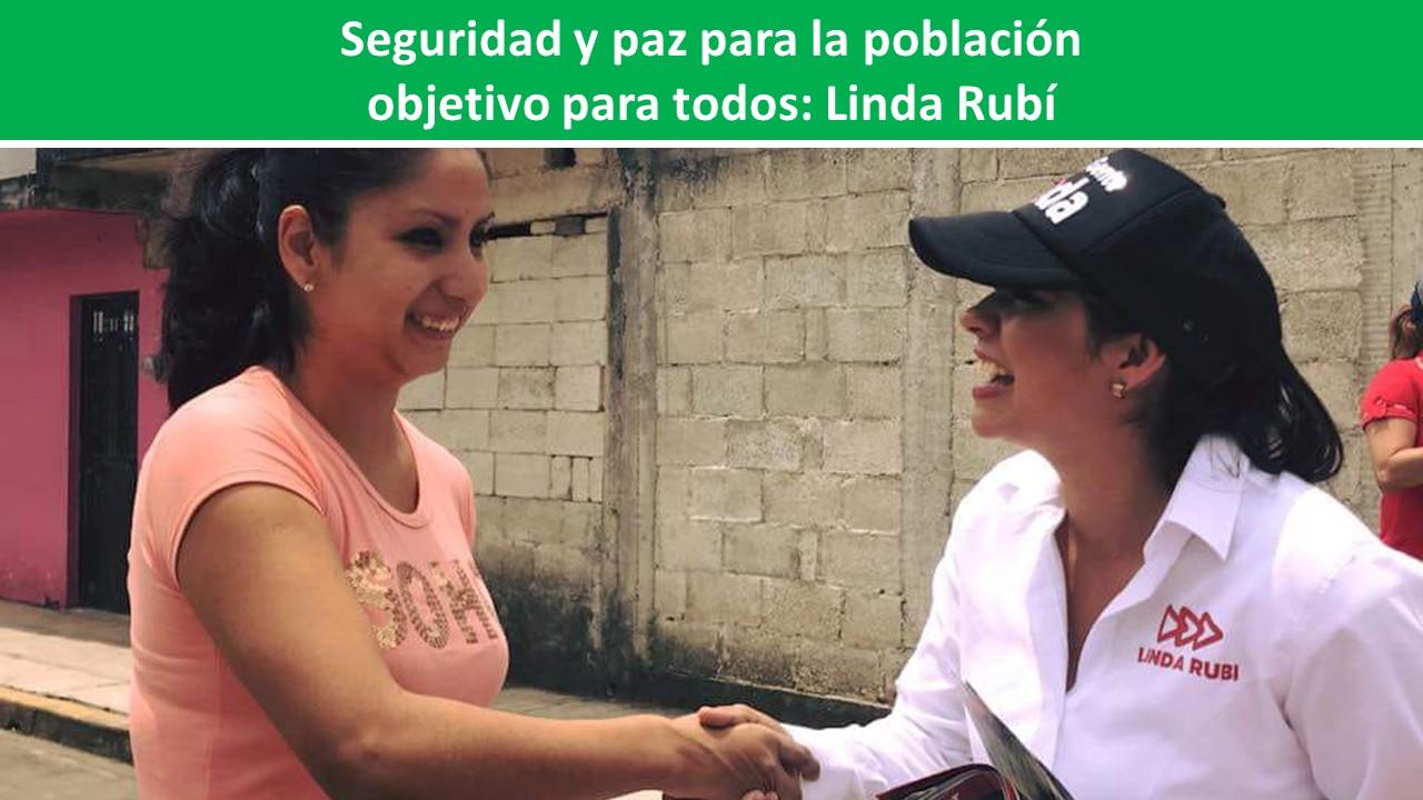 objetivo para todos: Linda Rubí