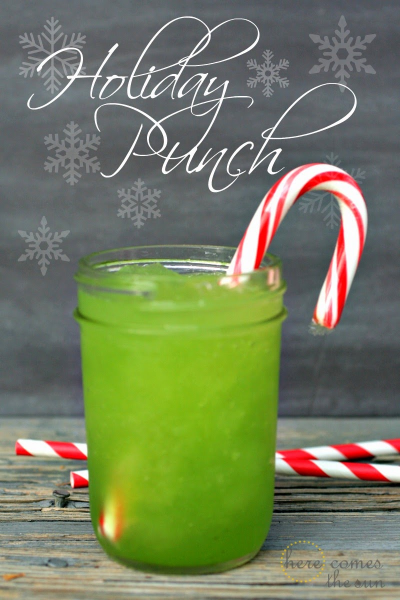 Holiday Punch Recipe {25 Days to an Organized Christmas} - Here Comes ...