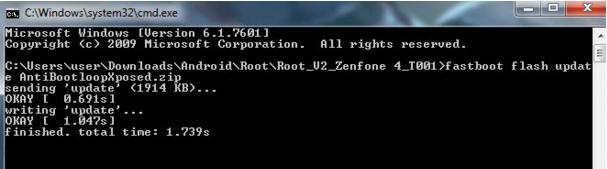 Cara Mudah Mengatasi Asus Zenfone 4 Bootloop Dari Mode Droidboot