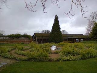 Allen House Gardens - home to a Jabberwocky Maze and a Minigolf Putting Green