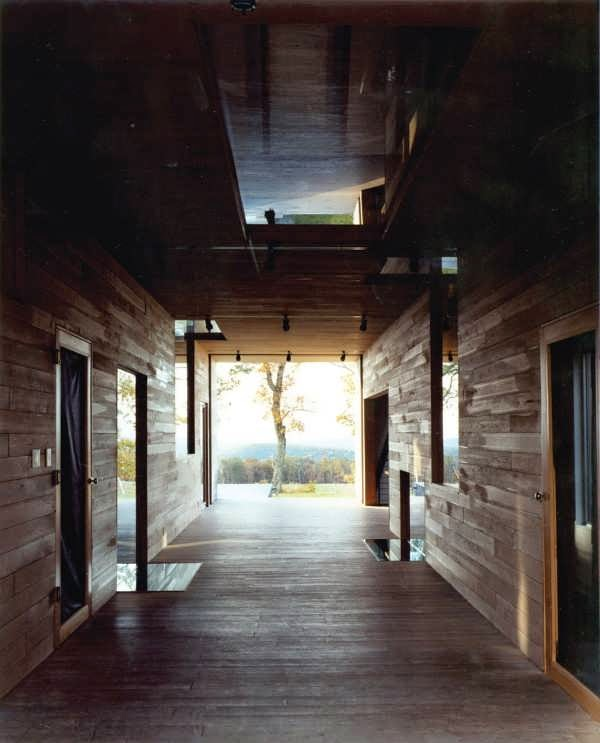Contemporary barn house design contains something truly - House behind a house designs ...