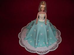 Virágos barbie