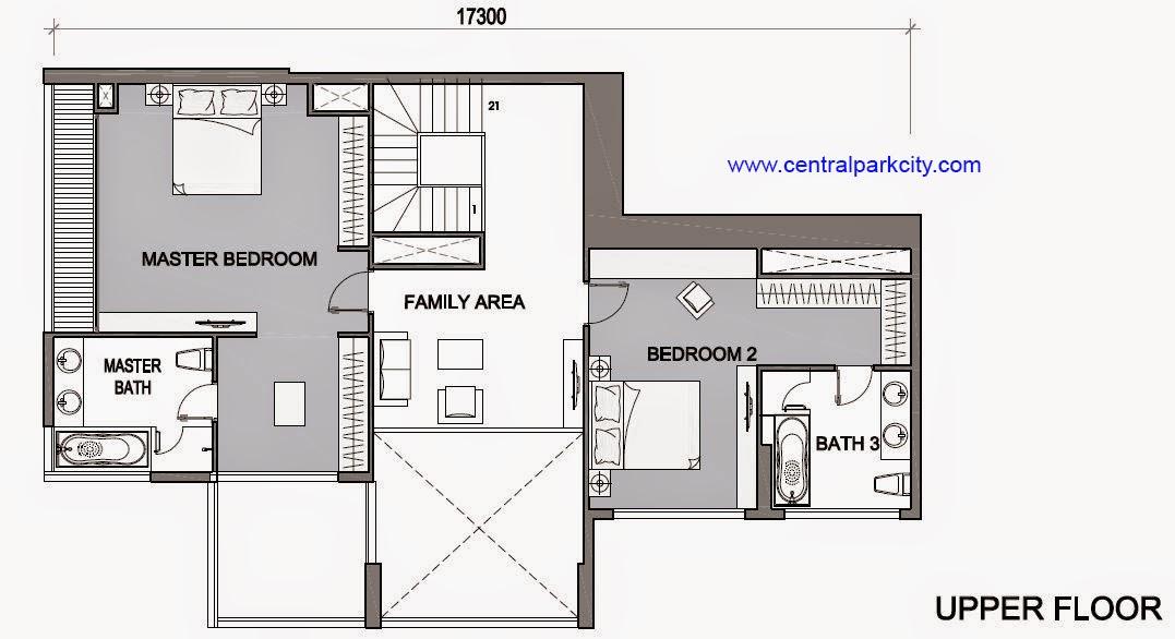 Vinhomes Central Park Penthouse - Căn số 05 tầng 45-46 Upper Floor - 3PN - 260.3m2