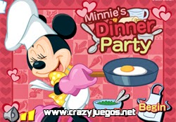 Jugar Minnies Dinner Party