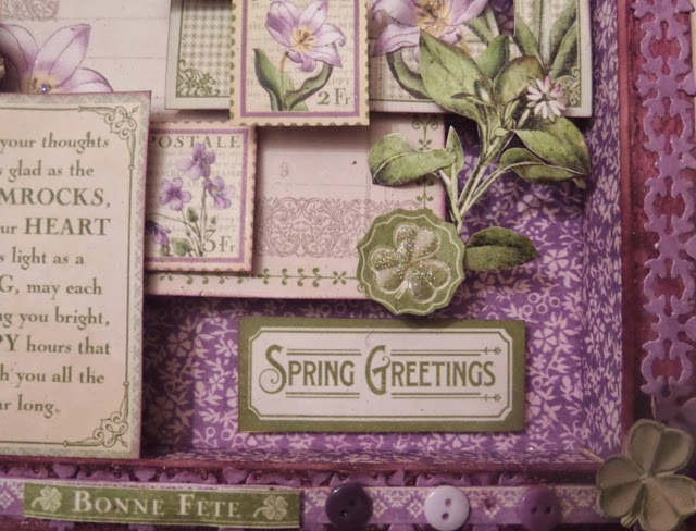 Time to Flourish Altered Frame 3 Clare Charvill Jones Crafts DT Project Dec 14 Graphic 45