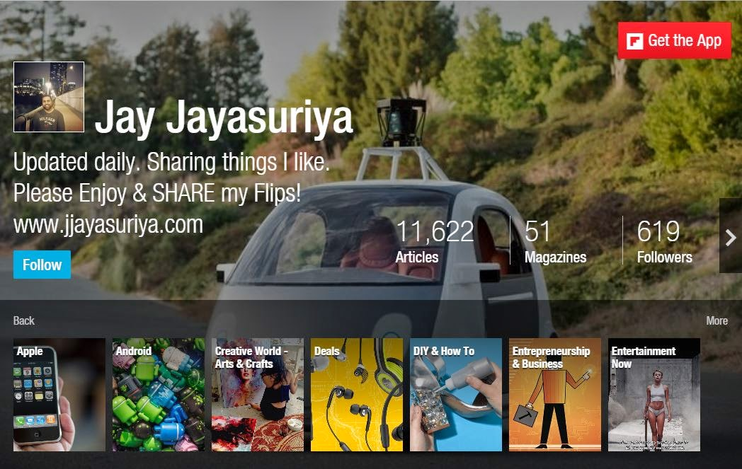Have you checked out my @Flipboard mag yet? via @JayJayasuriya #Flipboard #FlipboardMags #FlipboardMagazine