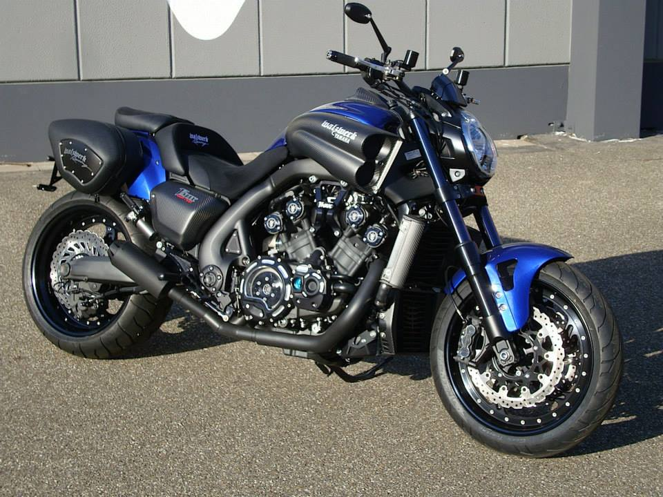 racing caf yamaha vmax hyper modified by walzwerk racing. Black Bedroom Furniture Sets. Home Design Ideas