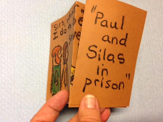 paul silas jail preschool craft