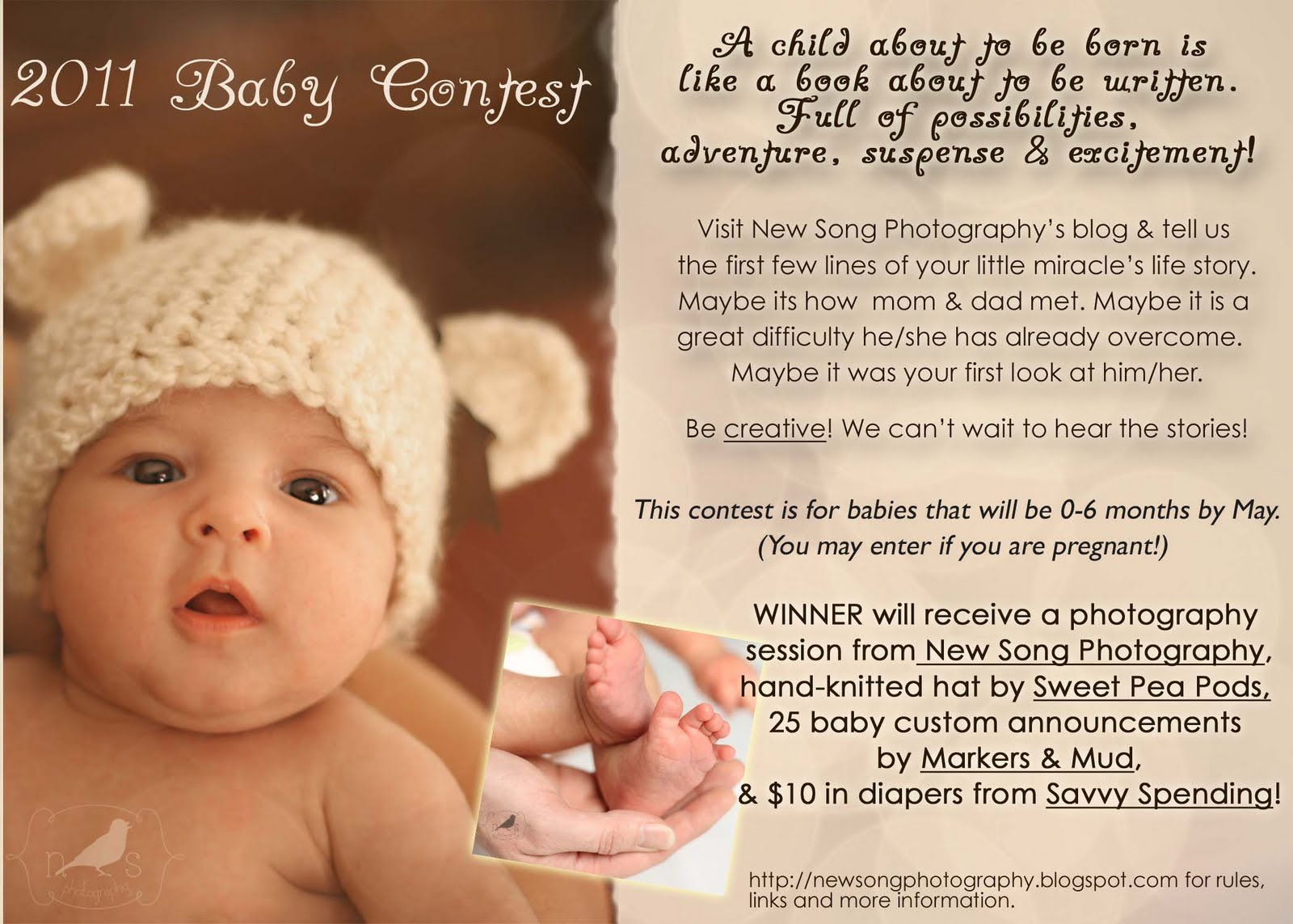 Savvy Spending: Baby Contest: Win a professional photo session ...