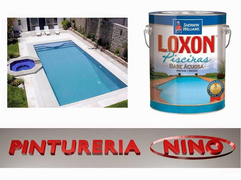 Pinturer a nino loxon piscinas for Pintura para piscinas