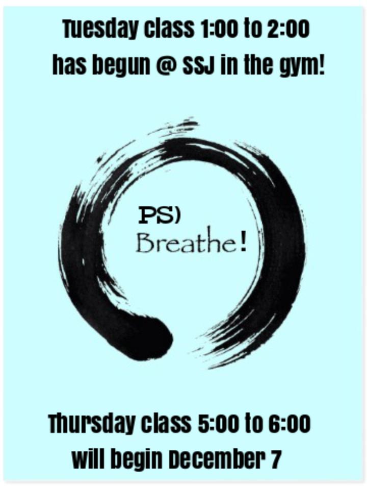 Classes begin again February 2018