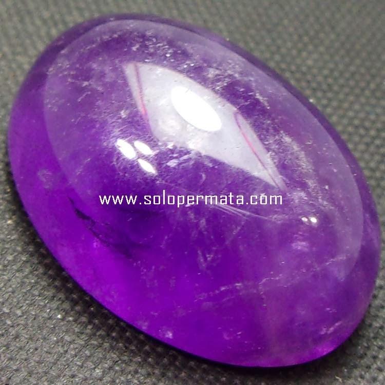 Batu Permata Kecubung Ungu Kalimantan - 06B06