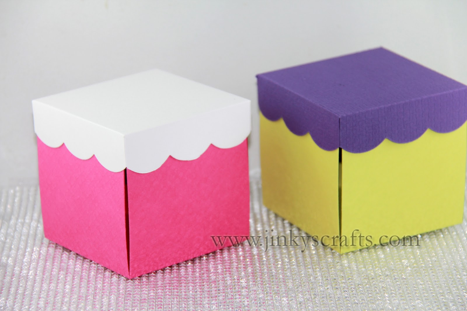 Jinkys crafts designs easter gift boxes exploding box kit available now negle Gallery