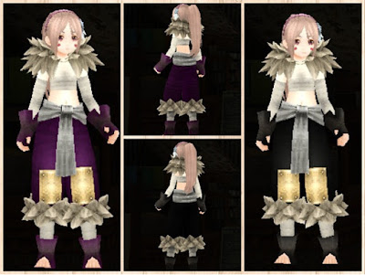 バンカラウェア 紫1+白3/黒1+白3