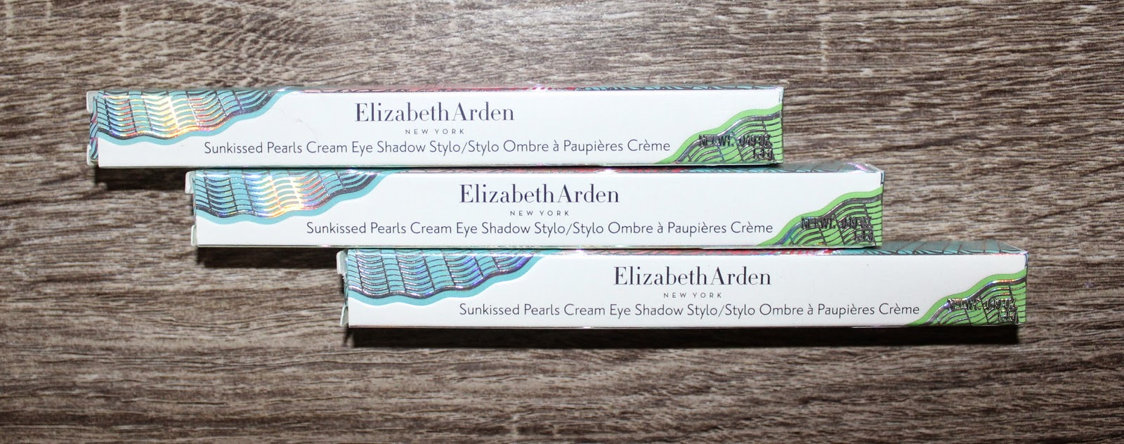 Elizabeth Arden Limited Edition Sunkissed Pearls Cream Eye Shadow Stylos