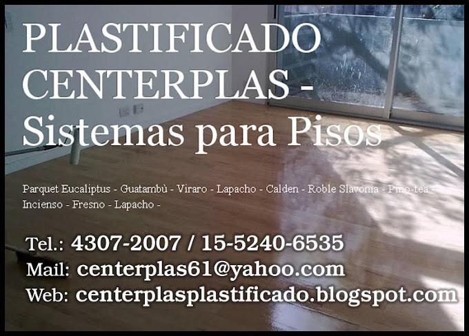 PLASTIFICADO CENTERPLAS - Sistemas para Pisos