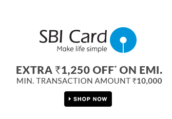 SBI Credit cards extra Rs.1250 off on EMI at Flipkart Holi Offer