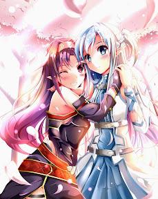 Sword Art Online Yuuki Konno Asuna
