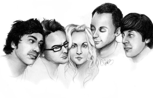 the big bang theory. por funkstoerung