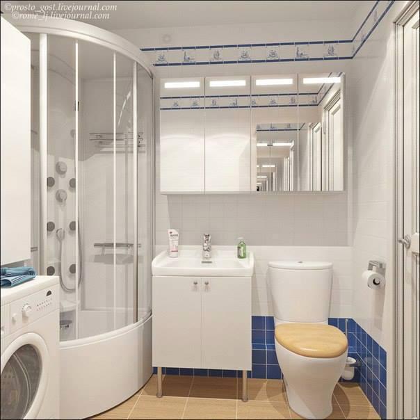 Desain apartemen bagian kamar mandi