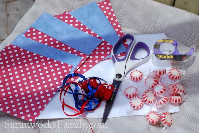 DIY Poppers 4th of July Craft Supplies